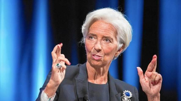 Christine Lagarde parte bacchettando la Germania