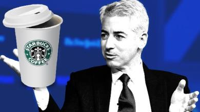 Bill Ackman investe in Starbucks