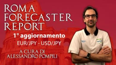 ROMA FORECASTER REPORT - 1° agg. EUR/JPY e USD/JPY