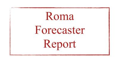Grafico MBT docet!!!! ROMA FORECASTER REPORT