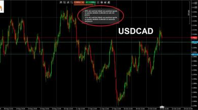 USDCAD: Sentiment Trading + Analisi Tecnica