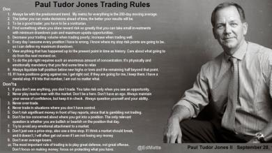 BILLIONS -  Storia di Paul Tudor Jones