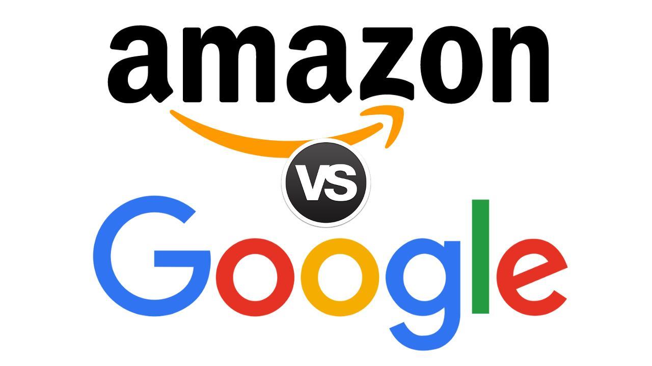 Image result for Amazon e Google